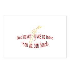 God Handles Postcards (Package of 8)