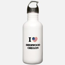 I love Sherwood Oregon Water Bottle