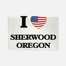 I love Sherwood Oregon Magnets