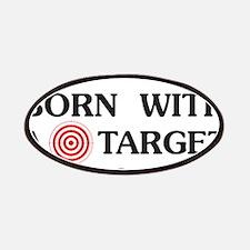 Black man target Patch
