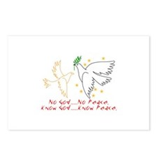 Know God Postcards (Package of 8)