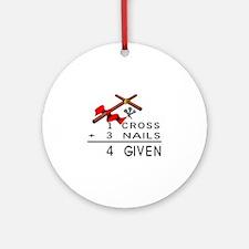 4 Given Ornament (Round)