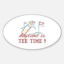 Tee Time Decal
