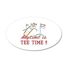 Tee Time Wall Decal