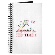 Tee Time Journal