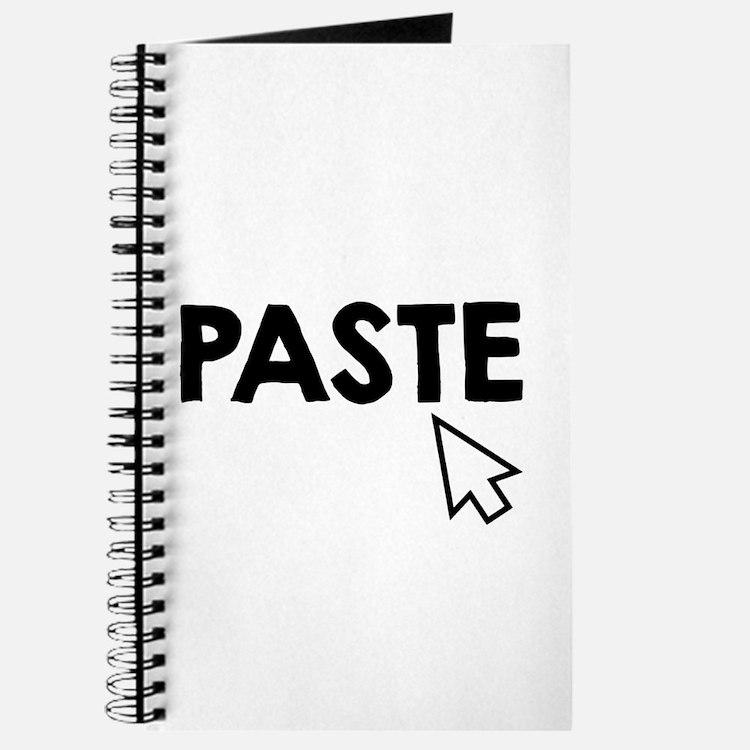 Paste Black Journal