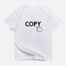Copy Black Infant T-Shirt