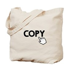 Copy Black Tote Bag