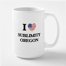 I love Sublimity Oregon Mugs