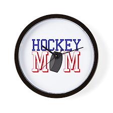 Hockey Mom Wall Clock