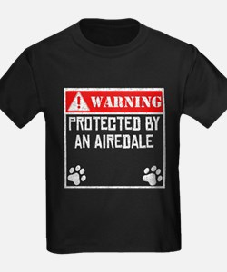 Protected By An Airedale T-Shirt
