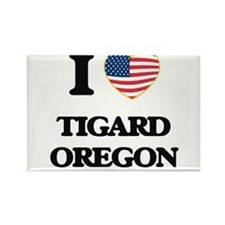 I love Tigard Oregon Magnets