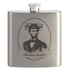 Abraham Drinkin Flask