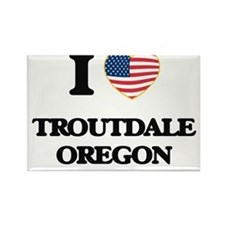 I love Troutdale Oregon Magnets