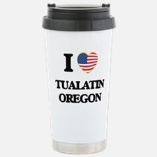 I love Tualatin Oregon Travel Mug