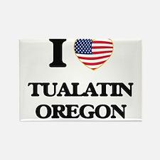 I love Tualatin Oregon Magnets