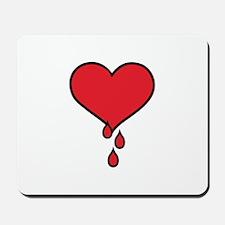 Give Blood Logo Mousepad