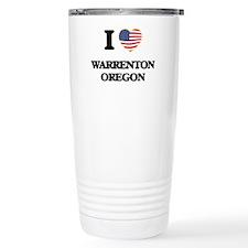 I love Warrenton Oregon Travel Mug