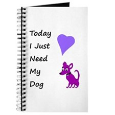 My Dog Today Journal