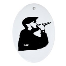 Rap Oval Ornament