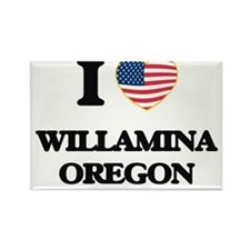 I love Willamina Oregon Magnets