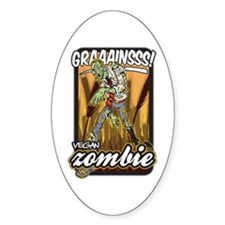 Vegan Zombie Decal
