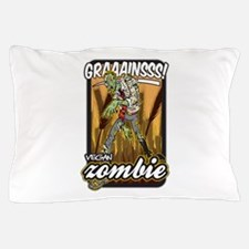 Vegan Zombie Pillow Case