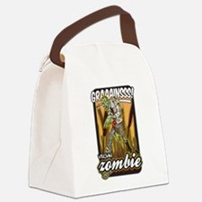 Vegan Zombie Canvas Lunch Bag
