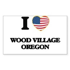 I love Wood Village Oregon Decal