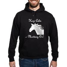 Mustang On Hoodie