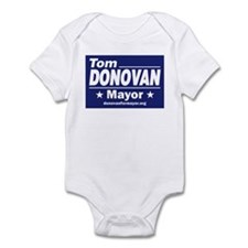 Tom Donovan for Mayor Infant Bodysuit