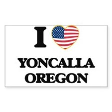 I love Yoncalla Oregon Decal
