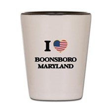 I love Boonsboro Maryland Shot Glass