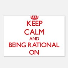 Keep Calm and Being Ratio Postcards (Package of 8)