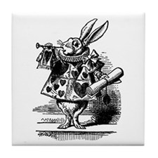 Vintage Alice in Wonderland Tile Coaster