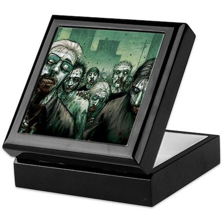 Zombie Keepsake Box