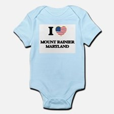 I love Mount Rainier Maryland Body Suit