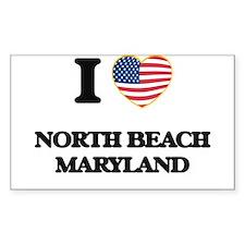 I love North Beach Maryland Decal