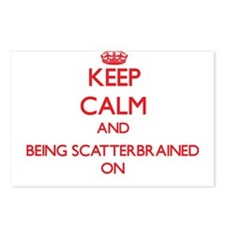 Keep Calm and Being Scatt Postcards (Package of 8)