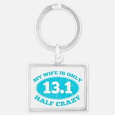 Half Crazy Wife Keychains