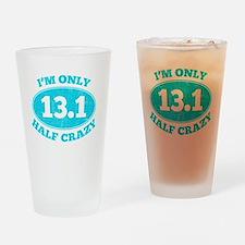 Cute Half marathon Drinking Glass