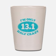 Cute Half marathon Shot Glass