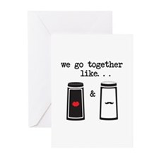 Salt and Pepper Greeting Cards