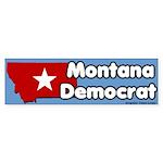 Montana Democrat Bumper Sticker