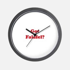 Got Falafel? Wall Clock