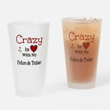 Coton de Tulear Drinking Glass