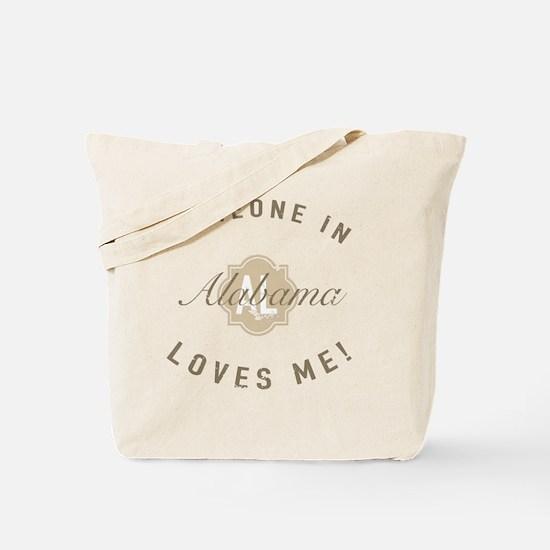 Someone In Alabama Tote Bag
