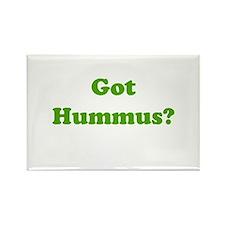 Got Hummus Rectangle Magnet