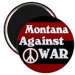 Montana Against War Magnet