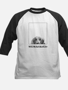 Weimaraner In A Box! Kids Baseball Jersey